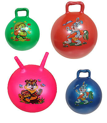 50Cm Large Hopper Ball Jump Bounce Space Retro Yoga Adult/kids Outdoor Toy Gift