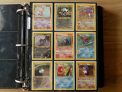 Pokemon Neo Discovery SET COMPLETE, 75/75 Cards NM +