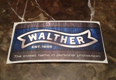 Walther Sticker Firearm Shooting Gun