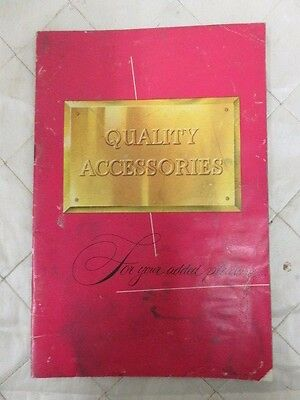 "Ford ""Quality Accessories for your added Pleasure"" Sales Brochure 1950s"