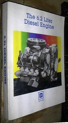 1982 - 1989 GMC CHEVROLET 6.2L DIESEL ENGINE bible FACTORY DETAILED MANUAL