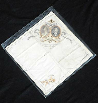 Princess Mary & Viscount Lascelles wedding commemorative handkerchief