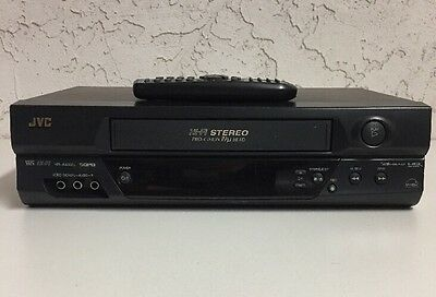JVC HR-A592U HIFI Stereo VHS VCR Video Cassette Recorder Player with Remote