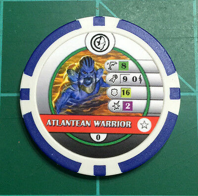 Heroclix - 6 Atlantean Warrior Bystander Tokens for play with Namor #111