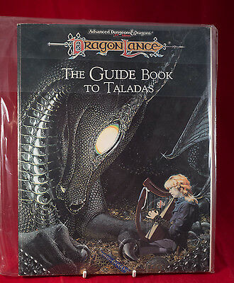 Guidebook to Taladas Dragonlance 2nd Ed D&D Roleplay TSR VIntage