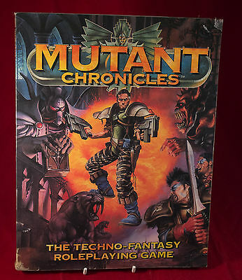 Mutant Chronicles Roleplaying 1st edition Game Core Book VIntage