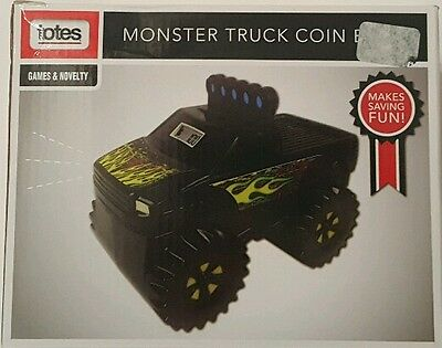Totes Monster Truck Coin Bank New in Package