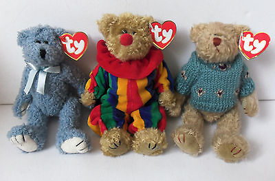 Ty Picadilly Bluebeary Skylar The Attic Treasure Collection Plush Soft Toy Teddy
