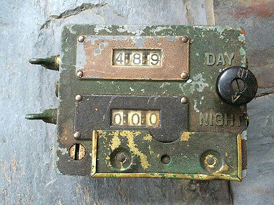VEEDER ROOT factory production counter *vintage* StEaMpUnK*
