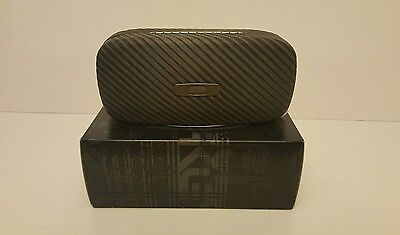 Oakley Square O Graphite Gray Sunglasses Eyeglasses Hard case,New in Box!