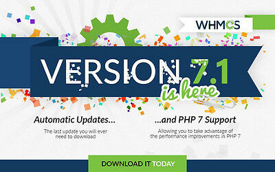 Whmcs License Owned For Life Version Wmhcs 7.1 Automatic Updates