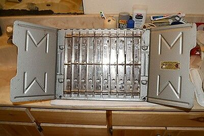 Master Products Mat912Rs3G Parts Counter Manual Rack & 10 Holders