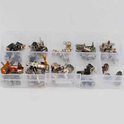 50pcs totally 5pcs each of 10 kinds 2 Phase 4 Wire dc micro stepper motor Mini s