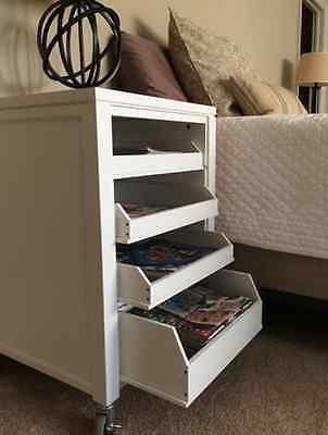 """~NEW~ Martha Stewart Living- 31"""" Craft Space Cart with Pull Out Trays"""