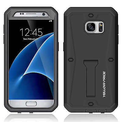 Tank Holder Armor Hybrid Case For Samsung Galaxy S7 Edge Shockproof Phone Case