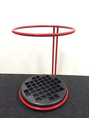 Vintage GOCCIA Red Umbrella Stand - Made in Italy