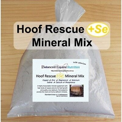 Hoof Rescue + SE Mineral Mix