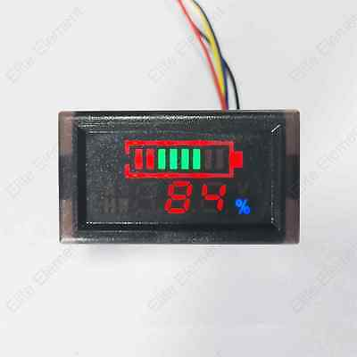 DC Digital Lead acid Battery Test Indicator Gauge Meter Voltage LiFePO NiMH RSOC