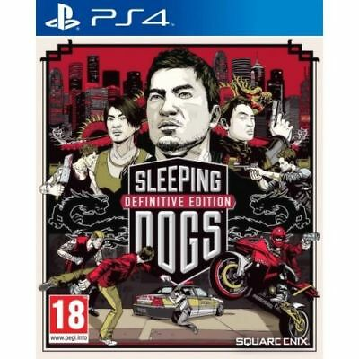 Sleeping Dogs Definitive Edition PS4 Playstation 4 Game Brand New in Stock