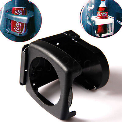 Black Plastic Folding Car Truck Drink Cup Can Bottle Holder Stand CG