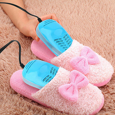 LED Quality Dryer Heating Portable UV Disinfectant Warmer Boots Footwear LO