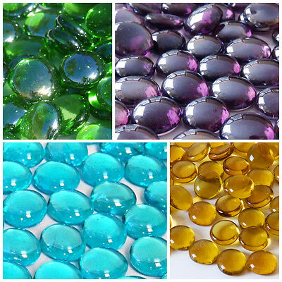 Round Glass Pebbles / Stones / Nuggets**LOTS OF COLOURS & QTY'S TO CHOOSE FROM**