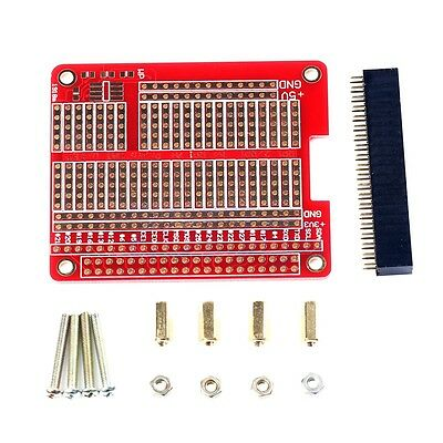 Raspberry Pi 3 Compatible PI3/PI2 model B HAT/Hole plate,prototyping board CG