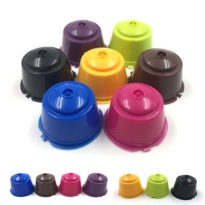 4 Refillable Reusable Compatible Coffee Capsules Pods for DOLCE GUSTO Machine