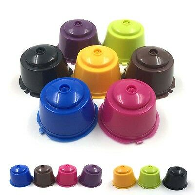 5 Refillable Reusable Compatible Coffee Capsules Pods for DOLCE GUSTO Machine