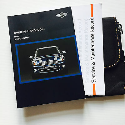 Mini & Mini Clubman - Service Book Wallet & Handbook  Pack 2005 To 2010
