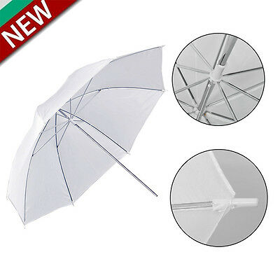 "Neewer 33""/84cm White Translucent Photo Studio Umbrella Free Shipping TO"