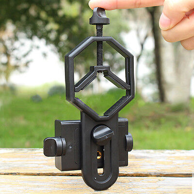 Durable Telescope Cell Phone Mount Adapter for Monocular Spotting Scope New