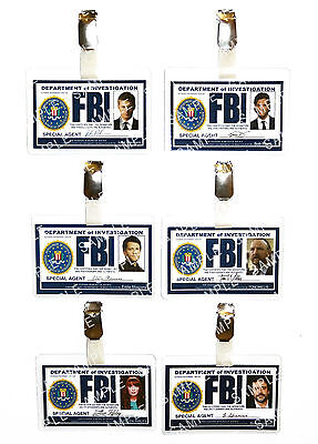 Supernatural FBI ID Badge Winchester Cosplay Costume Prop Fancy Dress Christmas