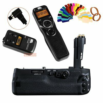 Pixle Battery Grip Replacement for Canon BG-E20 for Canon EOS 5D Mark IV + TW283