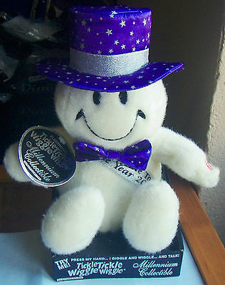 Tickle Tickle Wiggle Wiggle Millennium Collectible 2000 Snowman