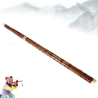 Traditional 47cm Long Soprano Chinese Dizi Bamboo Flute Music Instrument