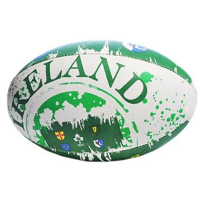 Carrolls Size 2 Rugby Ball With Ireland Four Province Design