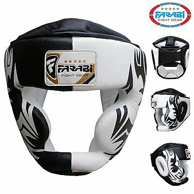 Farabi Boxing Head Guard Martial Art Kickboxing Training Punch Protection