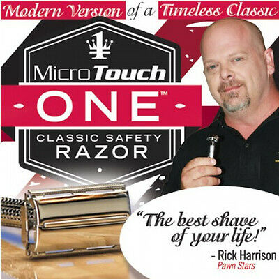 Micro Touch ONE Classic-Safety-Razor For Easy Cleaning As Seen On TV Hot