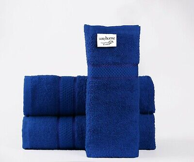 Set Of 3 Pure Cotton Towels Bathroom Gift Set Jumbo Sheet Bale Set 3 Towels