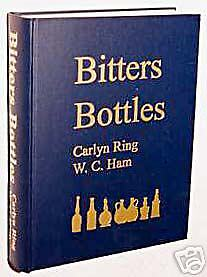 BITTERS BOTTLES reference book - new copy