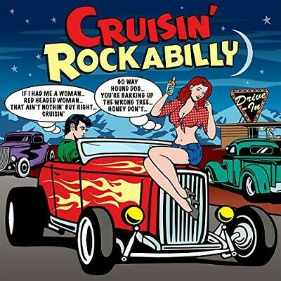 Cruisin Rockabilly (2014, CD NUEVO)3 DISC SET