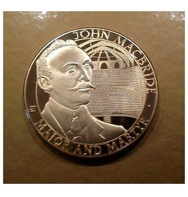 John MacBride  EASTER  RISING  GOLD LAYERED COIN IRELAND  1916-2016