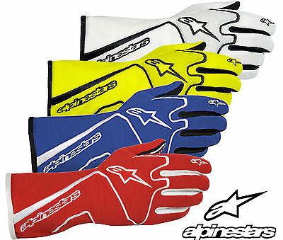 Alpinestars Tech 1 Race Gloves FIA Approved Nomex Oval / Rally / Autograss SALE