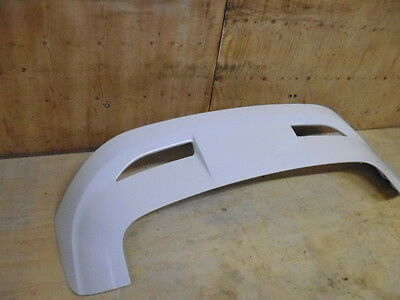 Ford Focus Zs Rear Boot Tailgate Spoiler In Frozen White 2011 2012 - 2015 2016