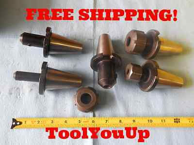 Lot Of 5 Universal Engineering Cnc Mill Tool Holder Collet Chucks Solid End Mill
