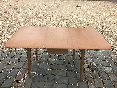 1960's Vintage Ercol Dining Table Drop Leaf 148cm x 84cm Can Deliver 50mile DN22