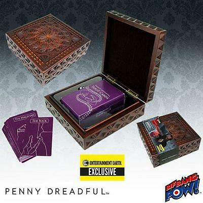 Penny Dreadful DELUXE Vanessa Ives TAROT Card DECK Carved WOOD Box Prop REPLICA