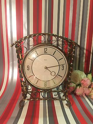 Paiko Mantel clock 1940-60s , Made In Scotland Full Working