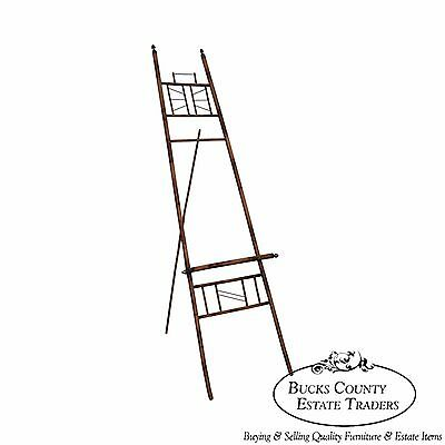 Antique Burnt Bamboo Easel